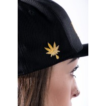 Dabble Leaf Hat Pin